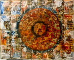 Phaistos Disk Cheryl Penn Asemic Writing