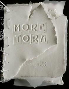 More Torn Book Work Cheryl Penn visual Poetry
