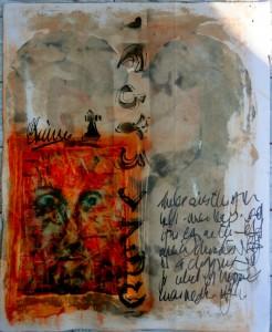 Bhubezi Mythology - The Women Who Hold Up the World.  Cheryl Penn.  Artists Book 10