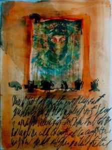 Bhubezi Mythology - The Women Who Hold Up the World.  Cheryl Penn.  Artists Book 12