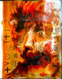 Bhubezi Mythology - The Women Who Hold Up the World.  Cheryl Penn.  Artists Book 13