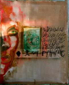 Bhubezi Mythology - The Women Who Hold Up the World.  Cheryl Penn.  Artists Book 2