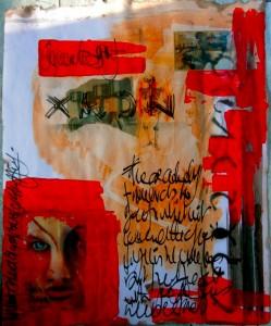 Bhubezi Mythology - The Women Who Hold Up the World.  Cheryl Penn.  Artists Book 4