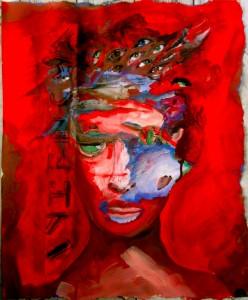 Bhubezi Mythology - The Women Who Hold Up the World.  Cheryl Penn.  Artists Book 5