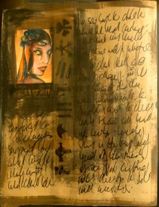 Bhubezi Mythology - The Women Who Hold Up the World.  Cheryl Penn.  Artists Book 8