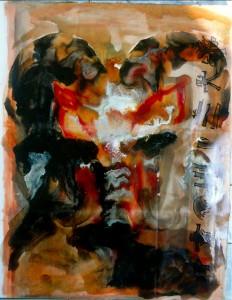 Bhubezi Mythology - The Women Who Hold Up the World.  Cheryl Penn.  Artists Book 9